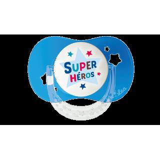 """Luc et Léa sucette + 18 mois """"super héros"""""""