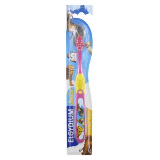 Elgydium brosse à dents junior 7/12 ans l'âge de glace