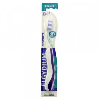 Elgydium pocket brosse à dents souple
