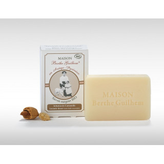 Maison Berthe Guilhem Savon neutre camomille/amande douce Bio - 100g