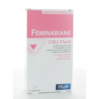 Feminabiane cbu flash 20 comprimés