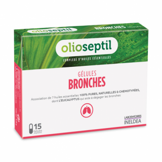 Ineldea Olioseptil bronches - 15 gélules
