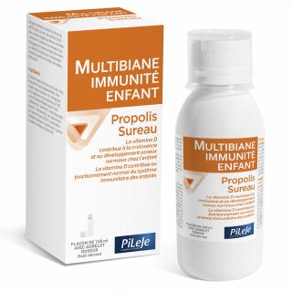 Pileje multibiane immunité enfant sureau propolis 150 ml