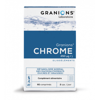 Granions Chrome 250 µg - 60 comprimés à croquer