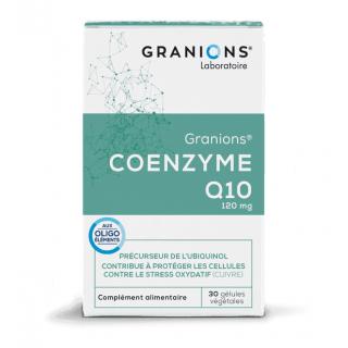Granions Coenzyme Q10 - 30 gélules végétales