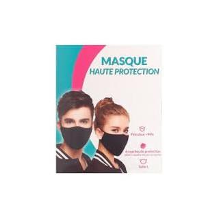 Masque ffp2 cuivre haute protection taille S noir