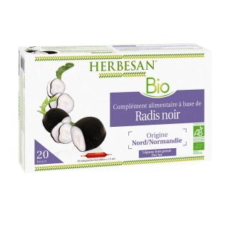 Herbesan Radis Noir Bio - 20 ampoules