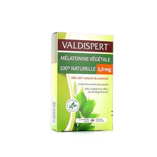 Valdispert Mélatonine végétale 1,9mg - 20 comprimés