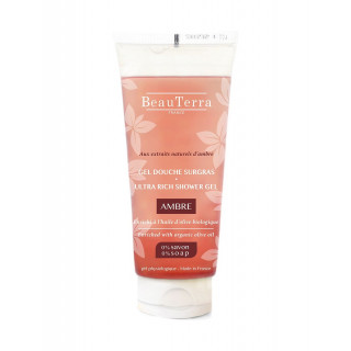 Beauterra gel douche surgras ambre 200 ml