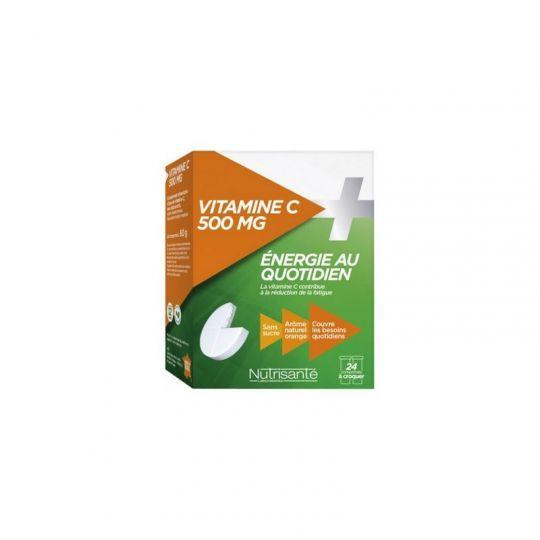 Nutrisanté Vitamine C 500 Comprimés à croquer