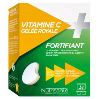 Nutrisanté Vitamine C + Gelée royale - 24 comprimés