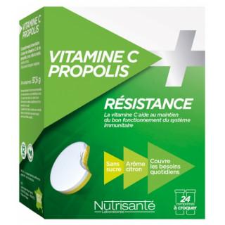 Nutrisanté Vitamine C + Propolis - 24 comprimés