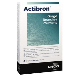 NHCO Actibron gorge bronches poumons - 28 gélules