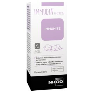 NHCO Immudia Immunité 0-12 mois - 23ml