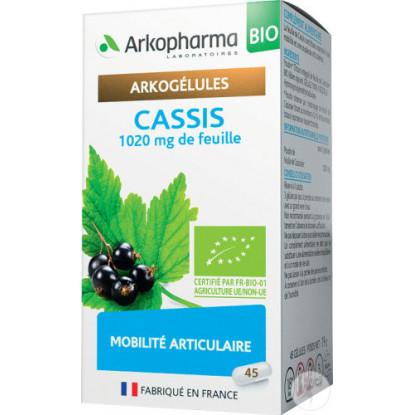 Arkogélules Cassis Bio - 45 gélules