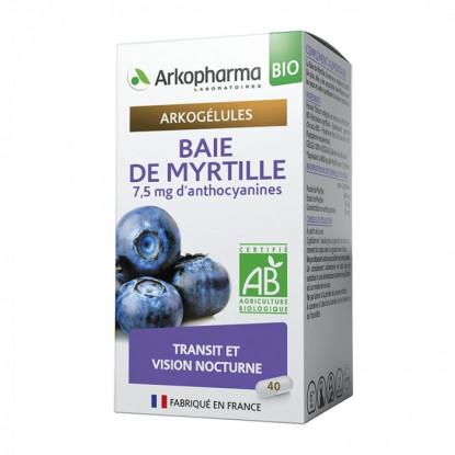Arkogélules Baie de Myrtille Bio - 45 gélules