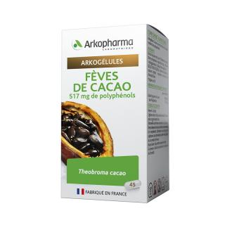 Arkogélules Fèves de Cacao - 45 gélules