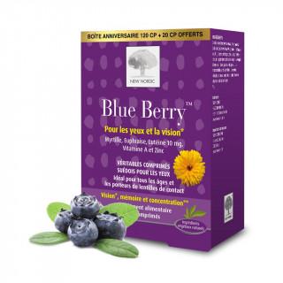 New Nordic Blue Berry - 120 comprimés + 20 comprimés Offerts