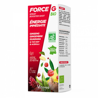 Nutrisanté Force G booster shot Bio spray - 75ml