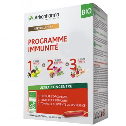 Arkopharma Arkofluides Programme Immunité Bio - 30 ampoules