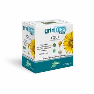 Aboca GrinTuss adulte toux sèche et grasse - 20 comprimés à sucer