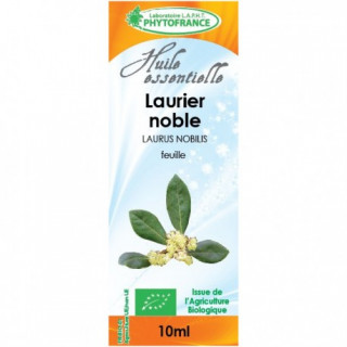 Phytofrance Huile essentielle Laurier noble Bio - 10ml