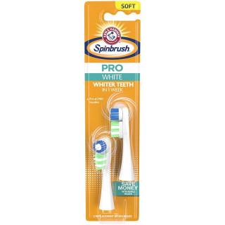 Spinbrush Pro Clean 2 têtes de brossages