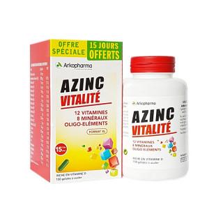 Arkopharma Azinc Vitalité - 150 gélules