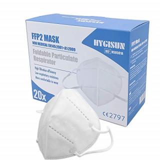 Masque KN95 type FFP2
