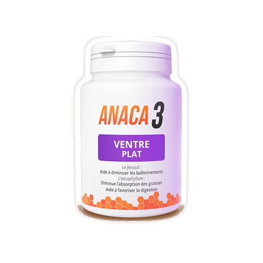 Anaca3 Ventre plat - 120 gélules