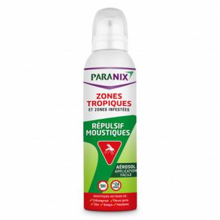 Paranix aérosol répulsif moustiques zones tropiques 125ml