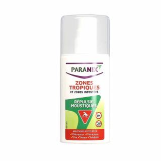 Paranix spray répulsif moustiques zones tropiques 90ml