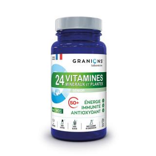 Granions 24 Vitamines minéraux et plantes - 90 comprimés