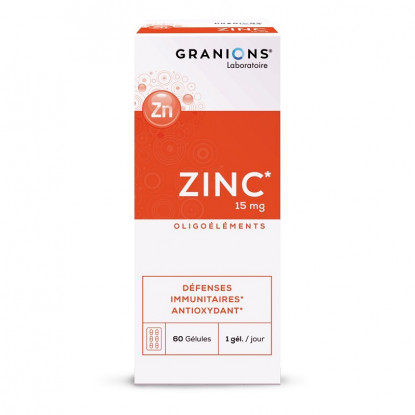 Granions Zinc 15mg - 60 gélules