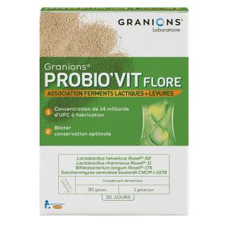 Granions Probio'vit Flore - 30 gélules