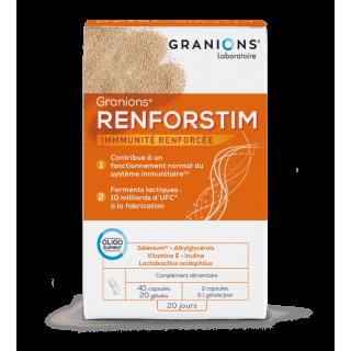Granions Renforstim - 40 capsules + 20 gélules