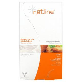 Netline Bande cire froide corps - 20 unités