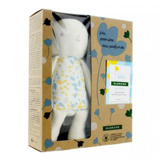 Klorane Coffret eau parfumée et doudou lapin bébé - 50ml