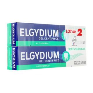 Elgydium Dentifrice dents sensibles - Lot de 2 x 75ml