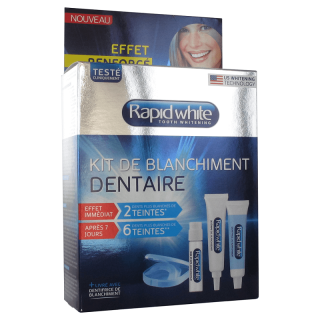 Rapid White Kit de blanchiment dentaire - 1 semaine