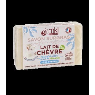 MKL Savon au lait de chèvre Bio sans parfum - 100g