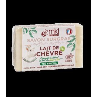 MKL Savon au lait de chèvre Bio Thé de Sencha - 100g