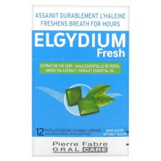 Elgydium Fresh Pastilles à sucer - 12 pastilles