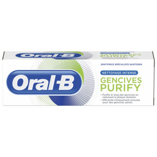 Oral B Dentifrice Gencives Purify - 75ml