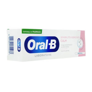 Oral B Dentifrice Sensibilité & gencives Calm original - 75ml