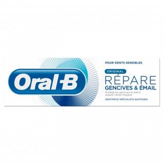 Oral B Dentifrice Répare gencives et émail - 75ml