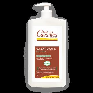 Rogé Cavaillès Gel bain douche surgras Aloe vera Bio - 1L