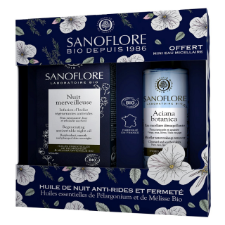 Sanoflore Coffret Merveilleuse Nuit certifié Bio