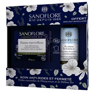 Sanoflore Coffret Baume Merveilleux certifié Bio