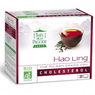 Thés de la pagode Hao ling Bio - 30 sachets